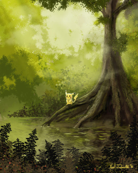 pokemon painting swamp